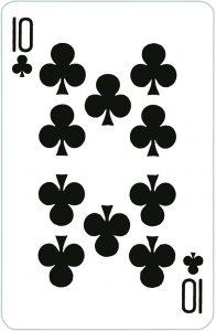 Signification jeu 32 cartes; jeu 32 cartes; signification 10 Trèfle