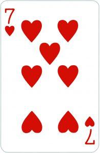 Signification jeu 32 cartes; jeu 32 cartes; signification 7 Coeur