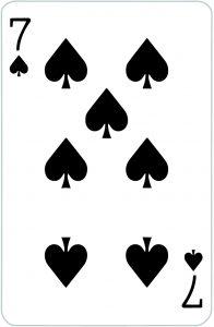 Signification jeu 32 cartes; jeu 32 cartes; signification 7 Pique
