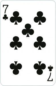Signification jeu 32 cartes; jeu 32 cartes; signification 7 Trèfle