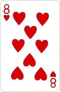 Signification jeu 32 cartes; jeu 32 cartes; signification 8 Coeur