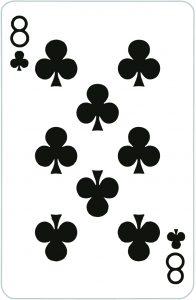 Signification jeu 32 cartes; jeu 32 cartes; signification 8 Trèfle