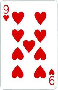 Signification jeu 32 cartes; jeu 32 cartes; signification 9 Coeur