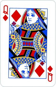 Signification jeu 32 cartes; jeu 32 cartes; signification Dame Carreau