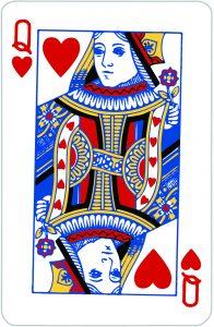 Signification jeu 32 cartes; jeu 32 cartes; signification Dame Coeur