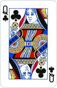 Signification jeu 32 cartes; jeu 32 cartes; signification Dame Trèfle