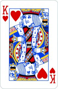 Signification jeu 32 cartes; jeu 32 cartes; signification Roi Coeur