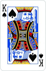 Signification jeu 32 cartes; jeu 32 cartes; signification Roi Pique