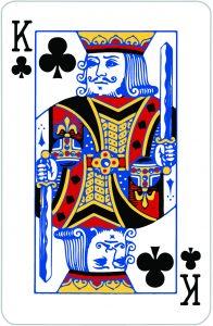 Signification jeu 32 cartes; jeu 32 cartes; signification Roi Trèfle