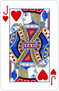 signification Valet Coeur; jeu 32 cartes; Signification jeu 32 cartes