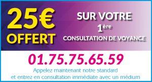 Voyance gratuite par téléphone,bon de réduction voyance, voyance offerte 25€ de bon cadeau voyance